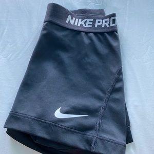 Nike pro- dri fit spandex shorts